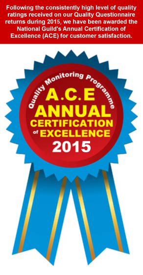 ACE Annual Certification of Excellence
