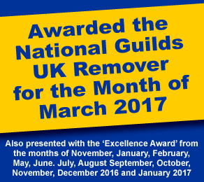 National Guild of Removers UK Mover of the Month Award